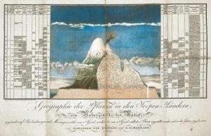 Alexander-von-Humbold, Illustration, Chimborazo