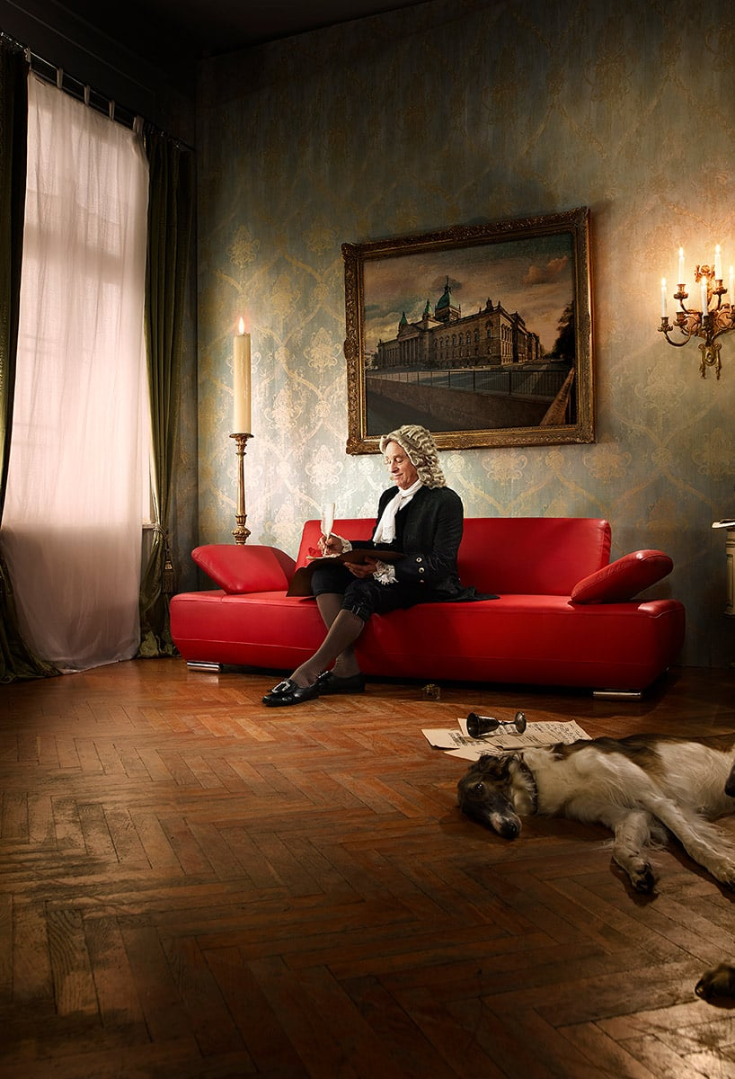 Marken-Kampagnen für den Möbelhandel. Vonder Motivauswahl bis zur Film-Produktion.
