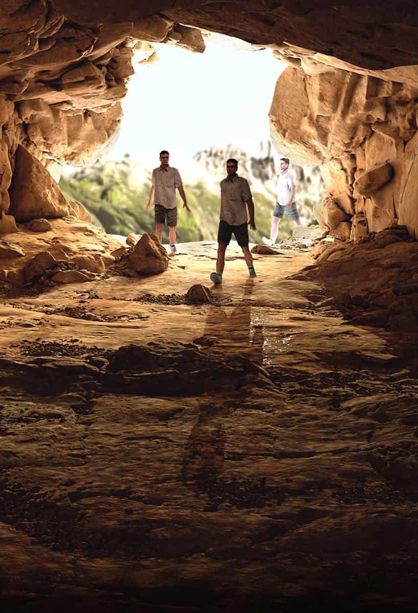 Eine digitale Launchkampagne.  Von Höhlenmenschen empfohlen.