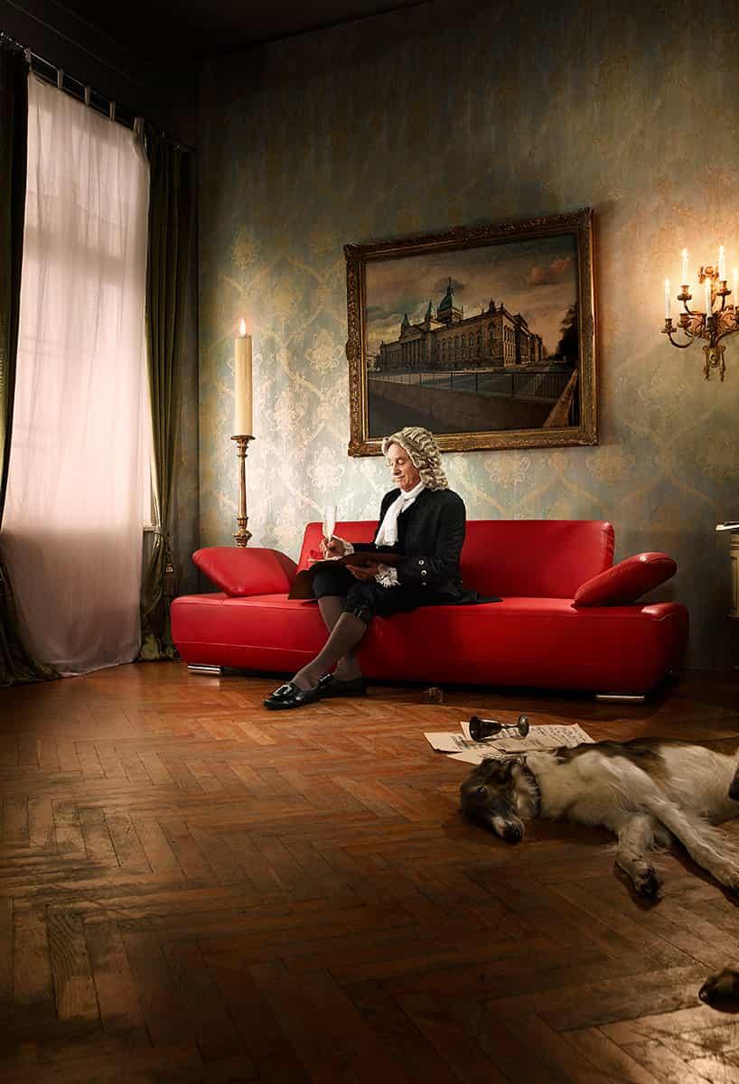 Eine regionale Eröffnungskampagne: Ungesehen mit einem Hauch von Bach und Goethe.